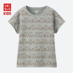 Children's Wear/Girls (UT) Sumikkogurashi Print T-Shirt (Short Sleeve)