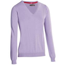 Women's Golf Sweater 500 - Ecru