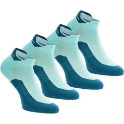 Arpenaz 100 ultra low cut adult hiking socks 2 pairs