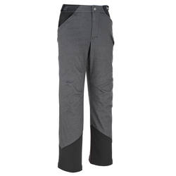 Hike 500 Boys' Hiking Trousers - Black