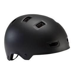 500 Teen Cycling Helmet Black