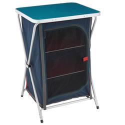 Storage unit camping