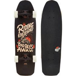 City Thrasher Ride Cruiser Skateboard - Black