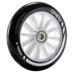 1 x 125 mm Scooter Wheel with Bearings