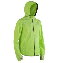 500 Reflective City Cycling Jacket - Neon