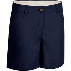 500 Women's Golf Warm Weather Shorts - Navy Blue