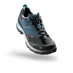 MH500 Women's Waterproof Mountain Hiking Shoes - Blue