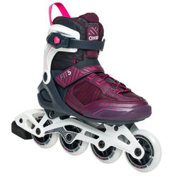 FIT500 Women's Inline Fitness Skates - Urban Prune