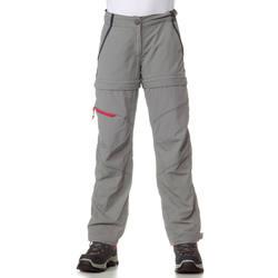 Hike 900 Girl's Hiking Modular Trousers