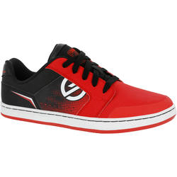 Crush Rubber Kids' Skate Shoes - Red/Black