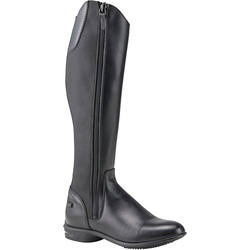 LB 560 Adult Horse Riding Leather Boots - Black