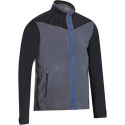 900 Men's Golf Waterproof Jacket - Grey and Black