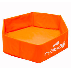 TIDIPOOL BASIC kids paddling pool orange