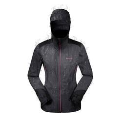 Women's MH900 waterproof mountain hiking rain jacket – Turquoise Green