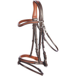 BDN 580 SUR CH Horse Riding Bridle - Brown