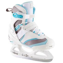 FIT 3 women's ice skates - white / sky blue