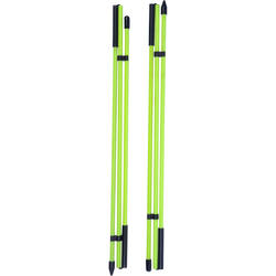 Alignment sticks - x2 Yellow