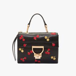 Handbag ARLETTIS EMBROIDERY CHERR NOIR