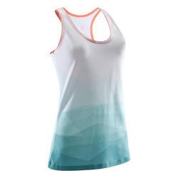 Women's AOP Tank Top - Peaks Turquoise