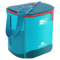 CAMPING/TREKKING ICE BOX COMPACT 30 LITRES BLUE