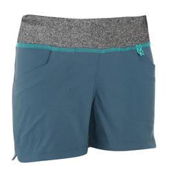 Hike 500 Children's Hiking Shorts - Green