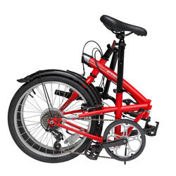 Tilt 120 Folding Bike - Grey