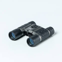 Adult Hiking Binoculars x10 magnification with adjustment - Black