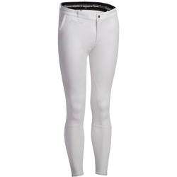 BR140 Horse Riding Grippy Patch Competition Jodhpurs - White