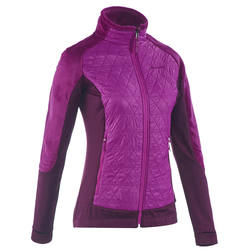 SH500 Women's Active Warm Snow Hiking Fleece - Purple