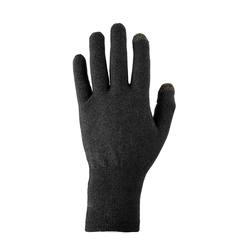Black Trek 500 mountain trekking liner gloves