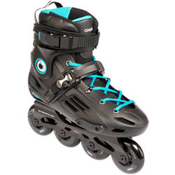 MF500 HardBoot Adult Freeride Skate - Black/Blue
