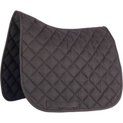 100 P Shetland Pony Horse Riding Saddle Cloth - Black