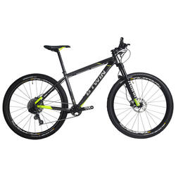 "Rockrider 900 27.5"" Mountain Bike - Grey/Neon Yellow"