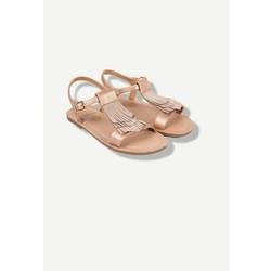 Sandales cuivrées
