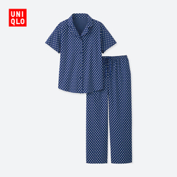 【Special size】Women's Cotton Blend Elastic Pajamas (Short Sleeve)