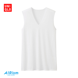Men's AIRism mesh V-neck vest