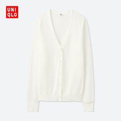 Women's Thin V-neck Knit Cardigan (Long Sleeve)
