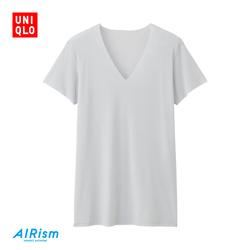 Men's AIRism Seamless V-Neck T-Shirt (Short Sleeve)