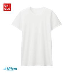 Men's AIRism mesh round neck T-shirt (short sleeve)