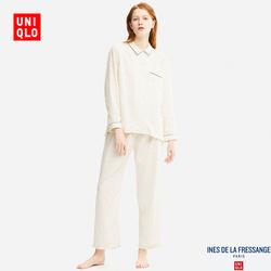 Women IDLF Floral Print Nightgown (Long Sleeve)