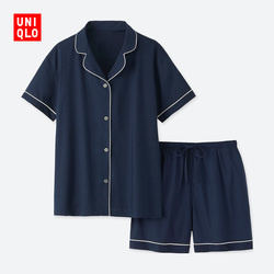 【Special size】Women Cotton Blend Elastic Pajamas (Short Sleeve)
