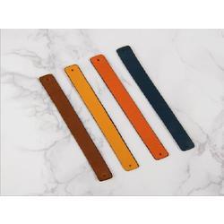 [BV]Change leather(화이트/블루)