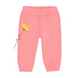 Sweatpants with embroidered bear