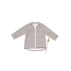 Printed zip-up sweatshirt