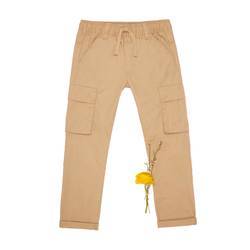 Cargo pants with drawstring