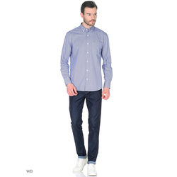 Regular fit button-down shirt