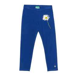 Leggings with embroidered logo
