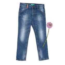 Slim fit jeans with print