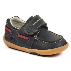 Grip 'n' Go - Norm Navy Boat Shoe