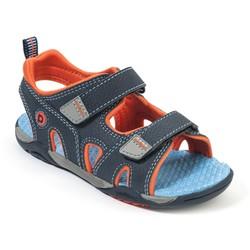 Flex - Navigator Navy Orange Adventure Sandal